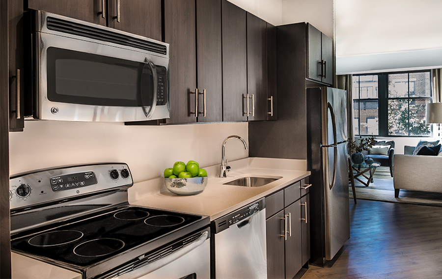 kitchens include stainless steel ge appliances apartments for rent in washington dc   14w apartments   apartment      rh   simpsonpropertygroup com