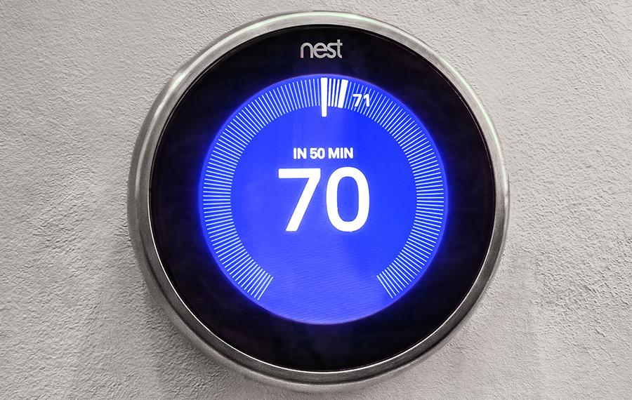 Energy Saving Nest Thermostat In Every Home