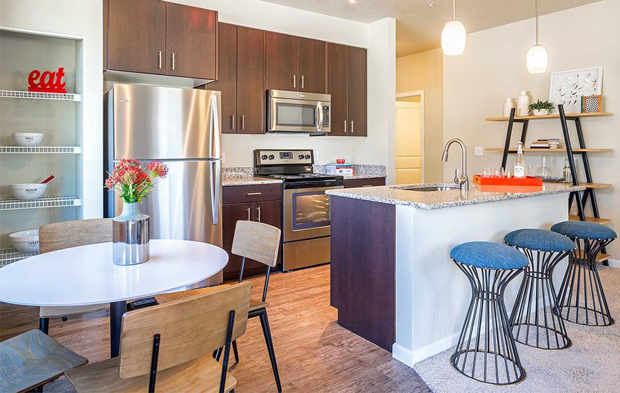 Straight line kitchen cabinets straight line kitchen for Straight line kitchen designs