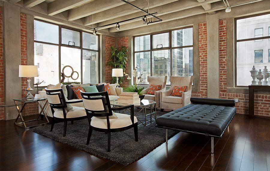 Financial District Apartments For Rent In LA   Brockman Lofts  Floor To Ceiling Windows