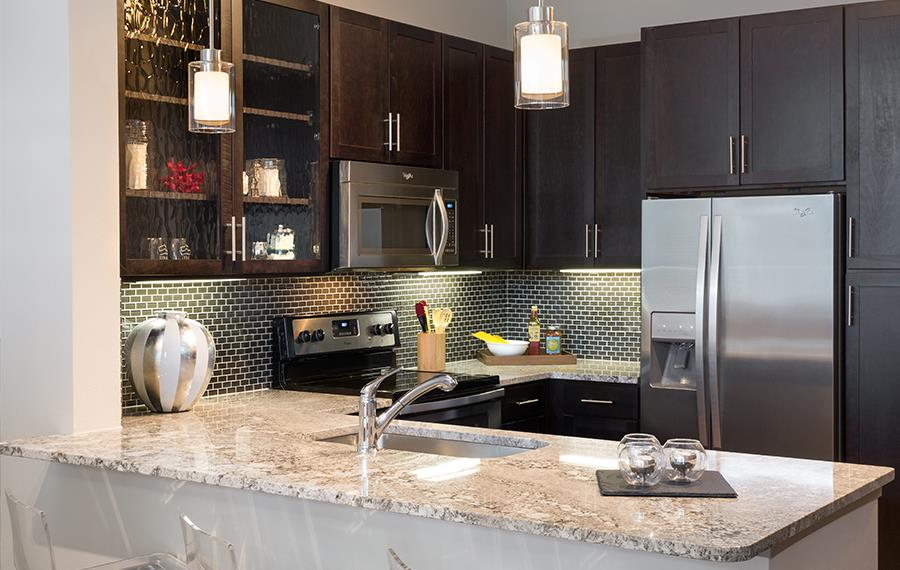 Strata - Dallas, TX - granite countertops