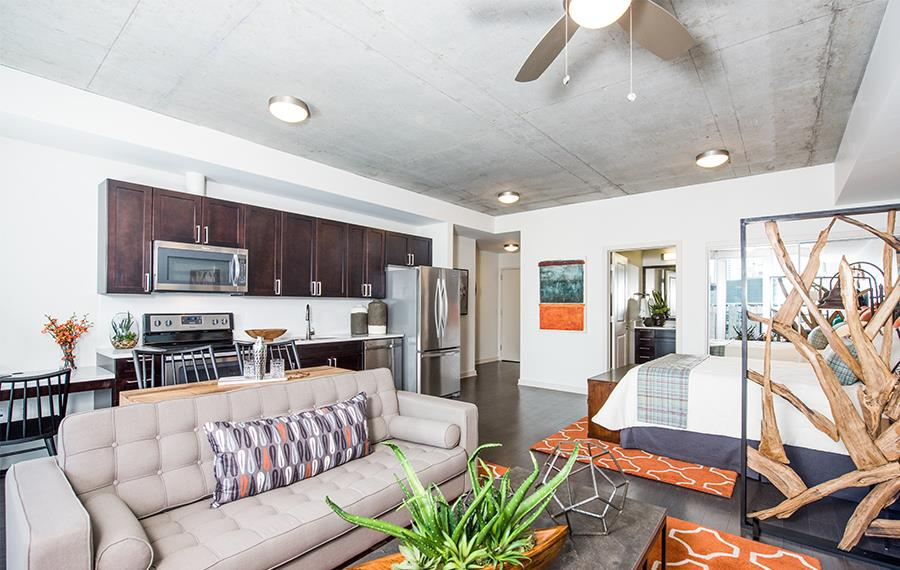 80203 Apartments - SkyHouse Denver - Open Floor Plans