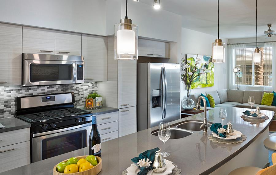 Avion on Legacy Luxury Apartments in Scottsdale AZ - Stainless Steel Appliances
