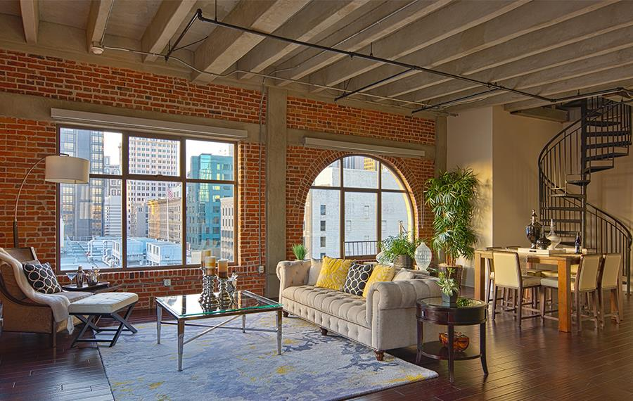 Check Out The Apartment Features Financial District Apartments In Downtown La Ca The Brockman Lofts