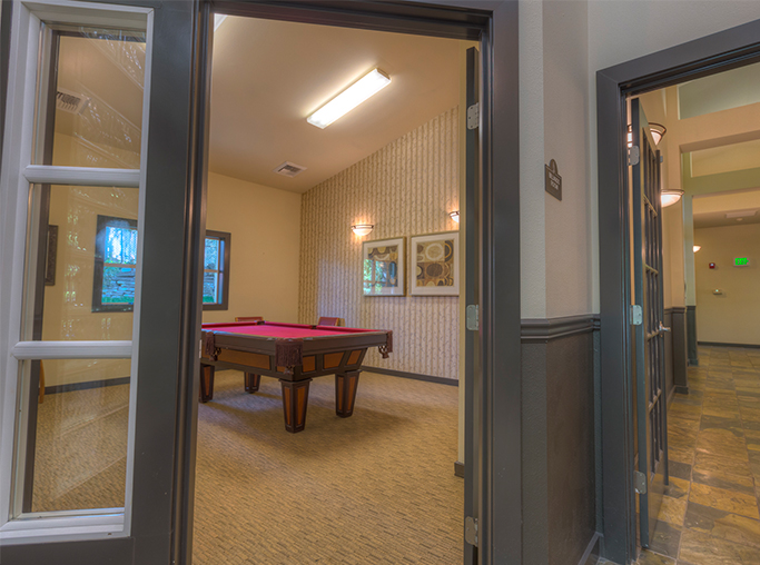 Apartments for rent in the Renton School District - Benson Downs Billiards Table