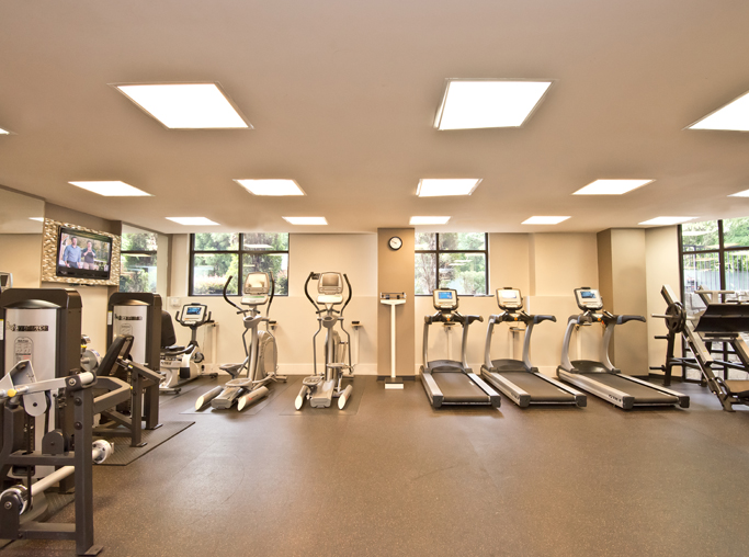Atlanta, GA apartments for rent in Sandy Springs - Gramercy At Buckhead fitness center