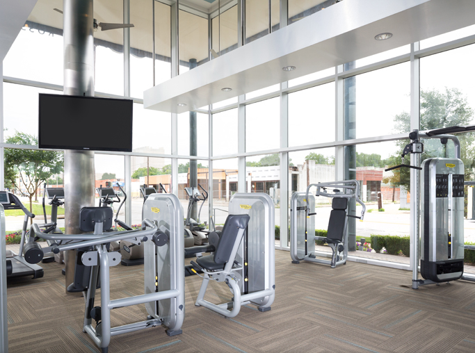 ICON at Ross Fitness Center - Katy Trail Apartments