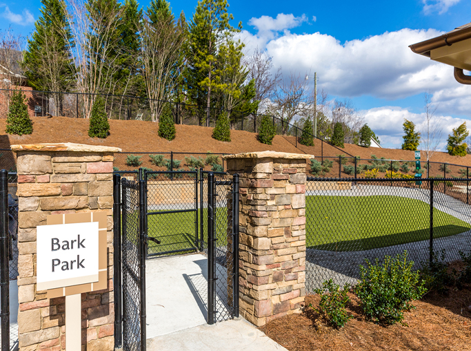 Apartments near Gwinnett Medical Center - Artisan Station Apartments Dog Park