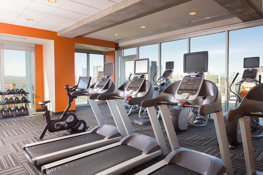 SkyHouse Austin Fitness Center Austin TX - Rainey Street