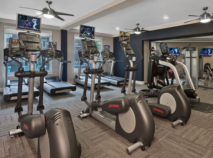 North Hills Apartments for rent in Raleigh - Marshall Park State of the art fitness center Raleigh NC - North Hills - Citrix