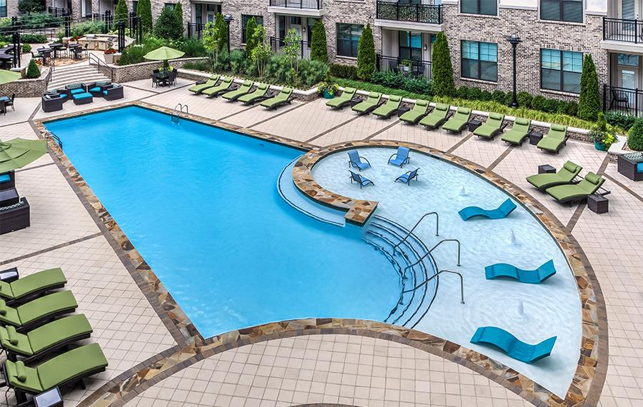 2700 Charlotte - Nashville, TN - pool - apartments for rent in nashville tn 37209