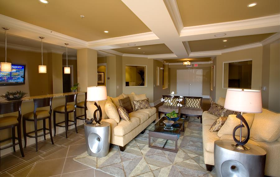 Apartments on south tryon - Gramercy Square at Ayrsley - Resident Lounge