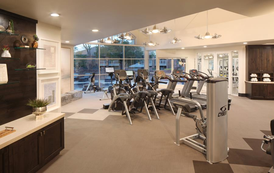Apartments near DTC - Carriage Place - Fitness Center