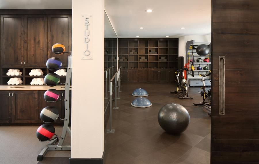 Carriage Place Apartments in DTC - fitness studio