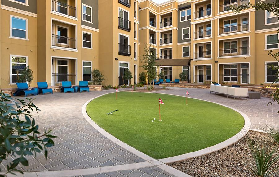 new apartments in phoenix - District at Biltmore - Fire Features
