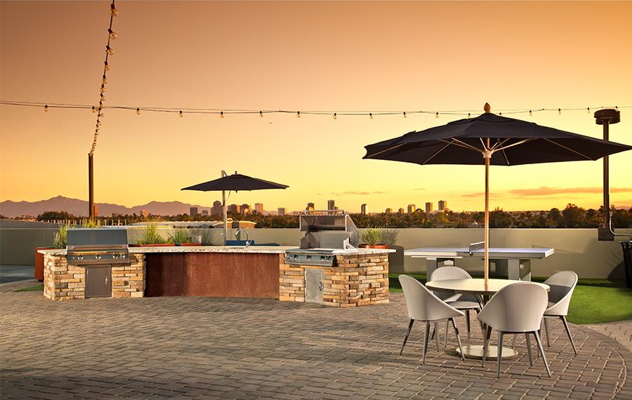 District at Biltmore Apartments 85016 - Rooftop Lounge