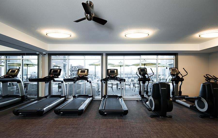 RiNo Apartments - Hartley Flats - Fitness Center