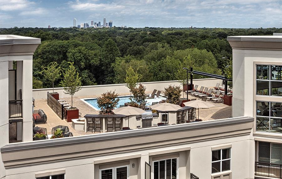 Myers Park apartments near Duke Energy - The Encore SouthPark - Swimming Pool