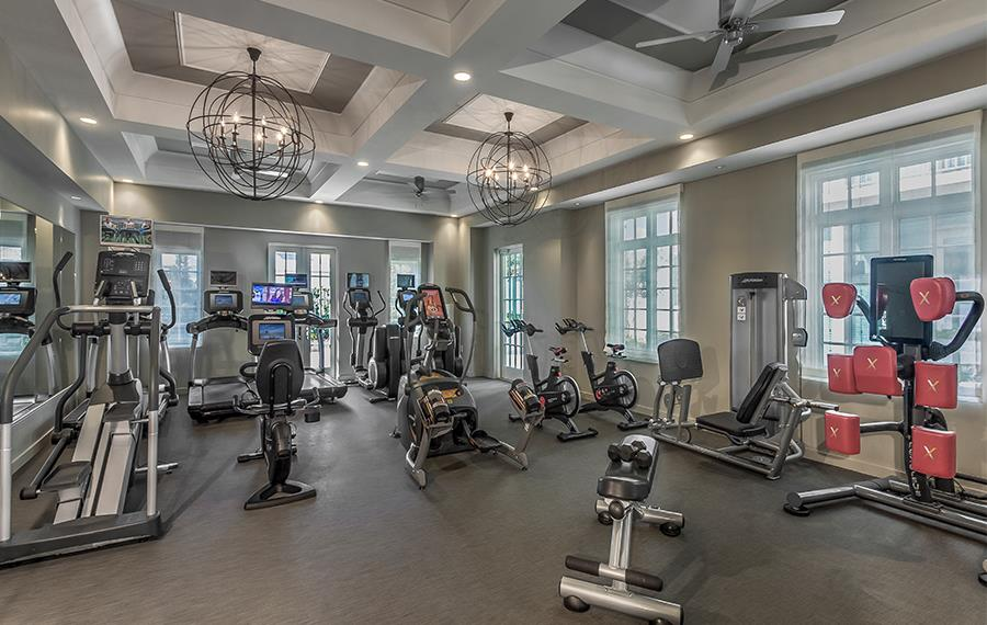 Buckhead Apartments - The Residence Buckhead Atlanta - Fitness Club