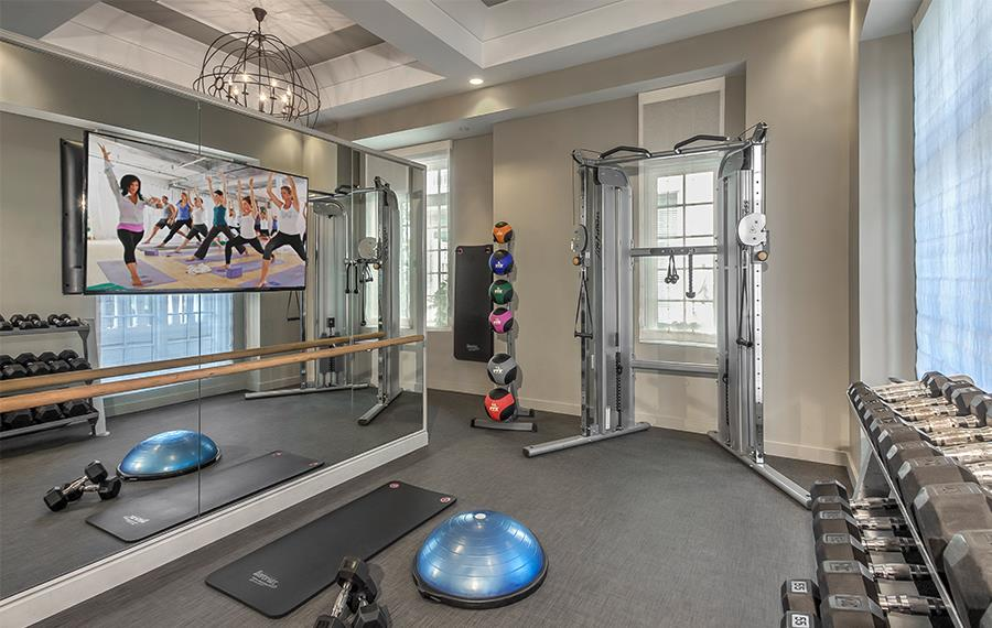 Best Apartments in Atlanta - The Residence Buckhead Atlanta - Fitness Studio