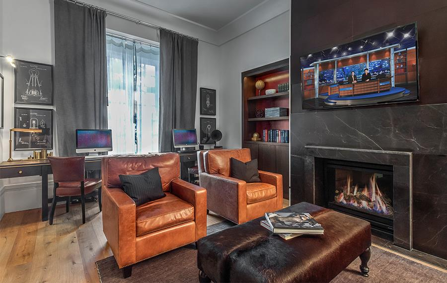 Buckhead Luxury Apartments - The Residence Buckhead Atlanta - Library