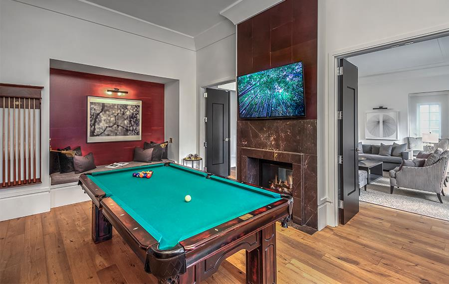 High Rise Apartments Atlanta - The Residence Buckhead Atlanta - Billiards