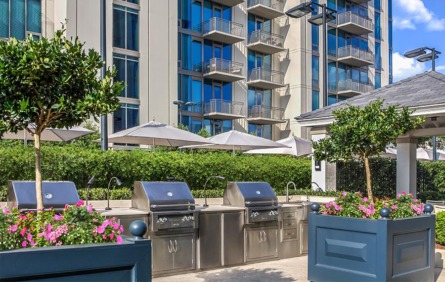 Luxury Apartments Atlanta - The Residence Buckhead Atlanta - Courtyard