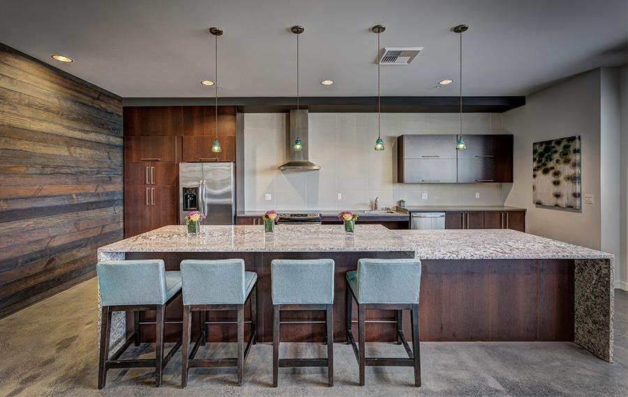 BellSquare apartments near Symetra Financial - Metro 112 Apartments - demonstration kitchen