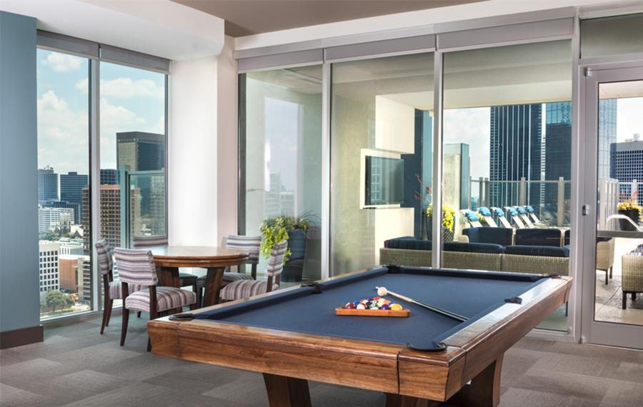 Apartments In Downtown Dallas TX SkyHouse Dallas Community - Pool table rental dallas