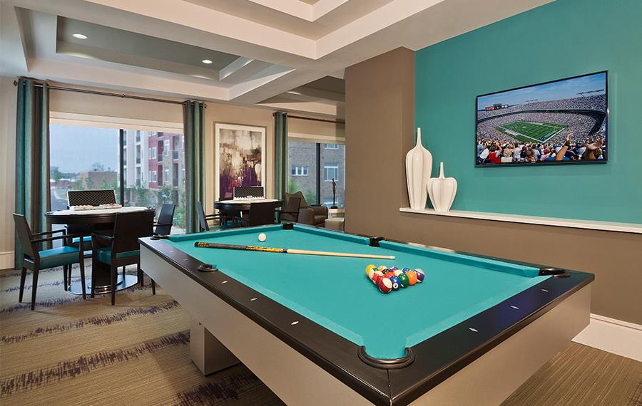 Charlotte apartments for rent - Silos South End - Game Room