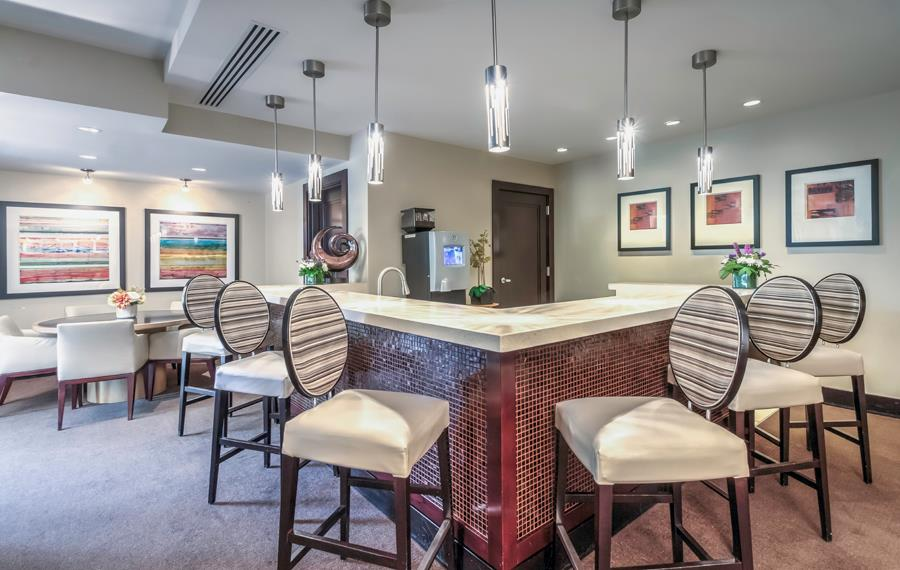 Apartments in Tysons Corner VA - The Reserve at Tysons Corner - Resident Coffee Bar