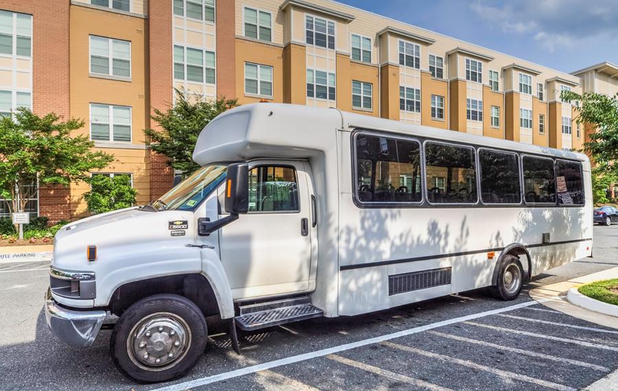 Apartments in Tysons Corner VA near Fannie Mae - The Reserve at Tysons Corner Complimentary Shuttle