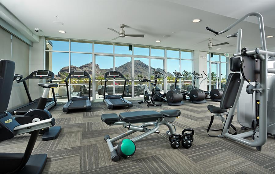 Camelback Apartments for Rent - Citrine Apartments - Fitness Center