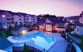 Highlands at Dearborn Resort style swimming pool Peabody MA - North Shore