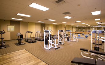 Lofts At Security Building 24 Hour Fitness Center Los Angeles CA - Pershing Square