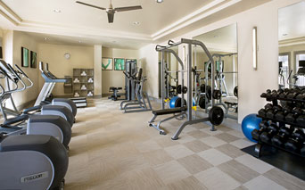 Highlands At Dearborn Fitness center with yoga room Peabody MA - North Shore