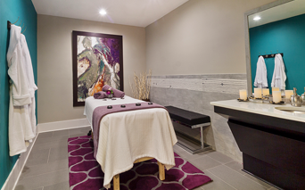 Silos South End Relaxation massage room Charlotte NC - Dilworth