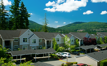 The Timbers Beautiful mountain views Issaquah WA - Issaquah Highlands