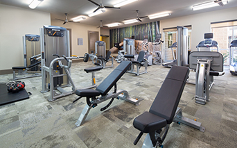 District at Greenbriar Expansive fitness center Houston TX - Museum District