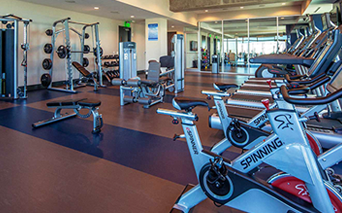 SkyHouse Dallas - Separate Yoga and Spin Room - Park District Apartments