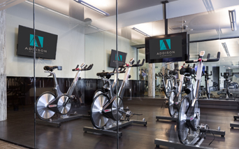 Addison at Kramer Station apartments for rent in Austin - Expansive Fitness Center