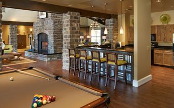 Coyote Ranch Clubhouse with billiards and Wi-fi Aurora CO - Parker