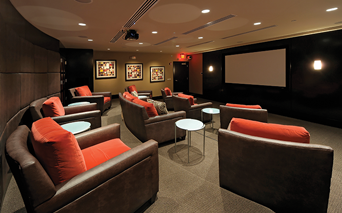 The Reserve at Tysons Corner Large comfortable theater room Vienna VA - Mclean