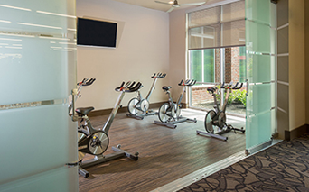 District at Washington Fitness center with yoga spin studio Houston TX - Washington District