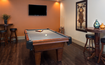 Villas At Stonebridge Ranch - Game room - Downtown McKinney Apartments