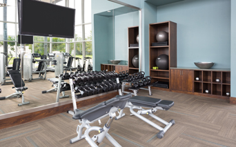 ICON at Ross fitness center - Baylor Medical Center Apartments