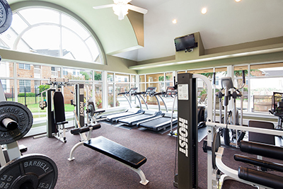 McDermott Place Apartments and Townhomes - Fitness Center - Plano, TX Apartment Homes