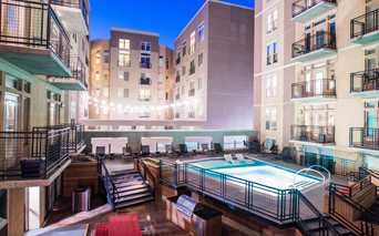 TwentyOne01 on Market Apartments - pool and sundeck - LoDo Apartments for Rent
