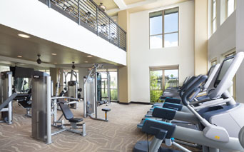 District at Memorial in Houston, TX - fitness center
