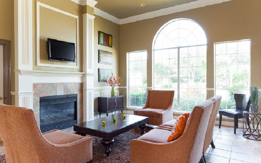 Montelena Apartments - Resident Clubhouse - Downtown Grapevine TX Apartments